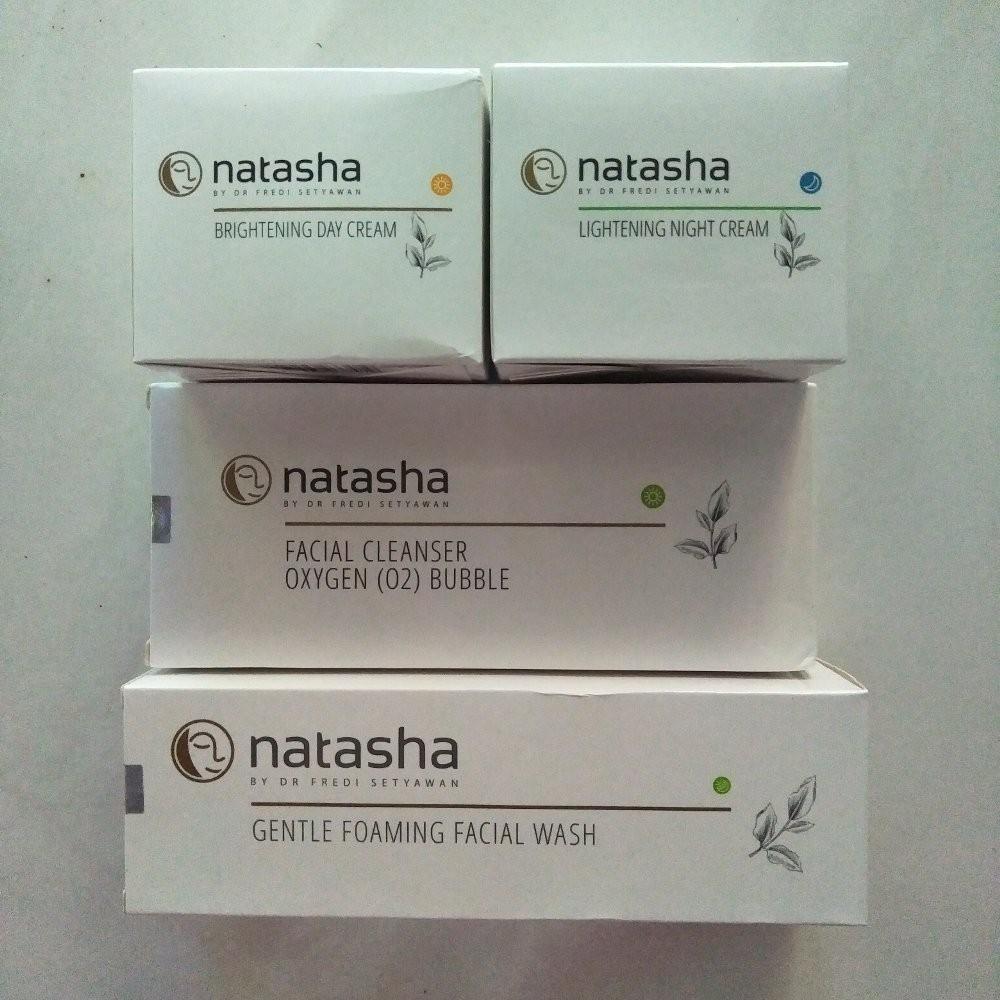 Paket Whitening Glow Natasha by dr Fredi Setyawan .