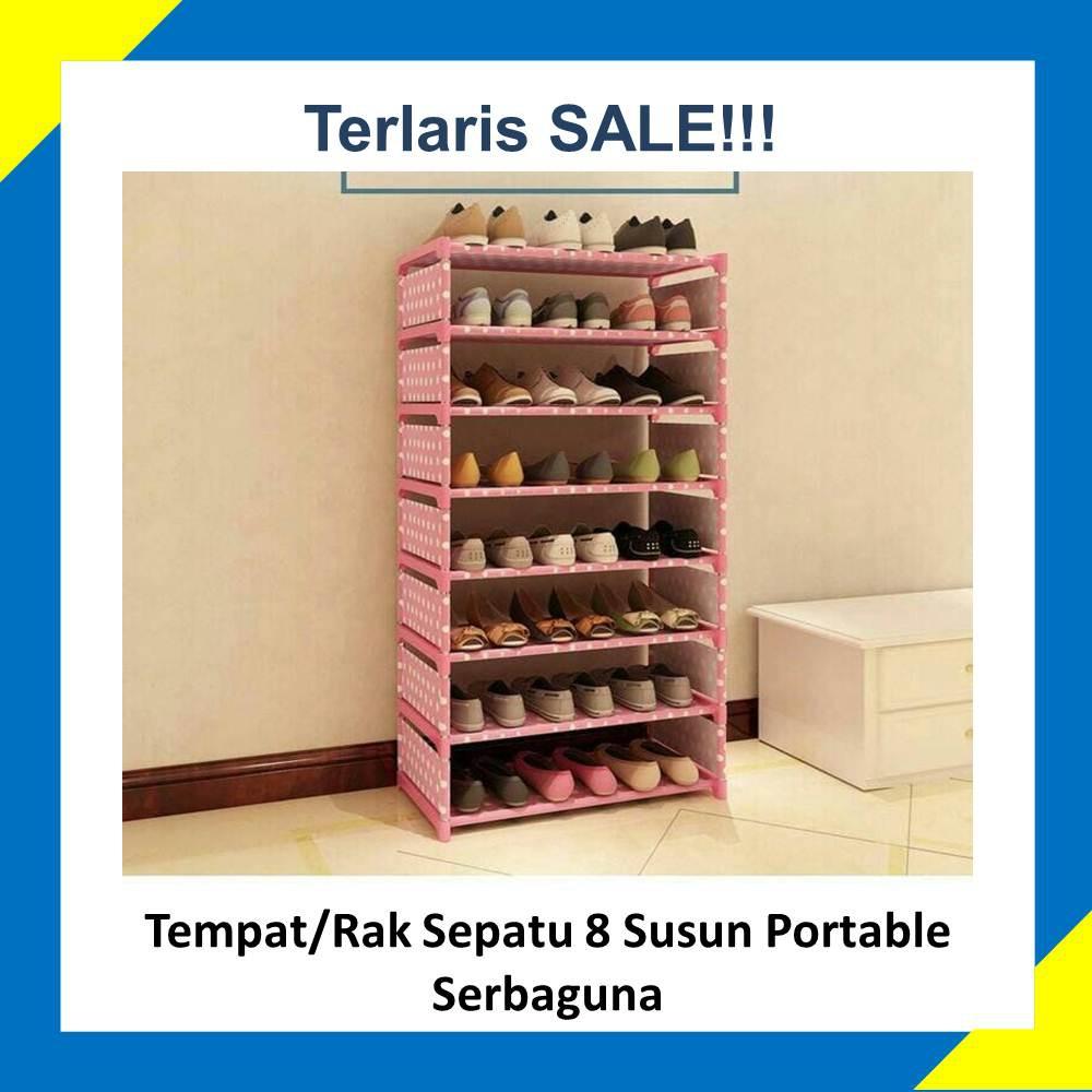 Rak Sepatu Susun Temukan Harga Dan Penawaran Tempat Penyimpanan Best Seller Serbaguna 10 Tingkat 9 Cover Transparan Online Terbaik Perlengkapan Rumah November 2018 Shopee Indonesia