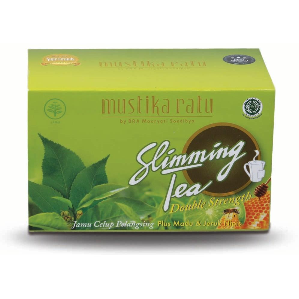 Mustika Ratu Slimming Tea Box Isi 15 Bag Shopee Indonesia Perawatan Wanita 28 Kaplet