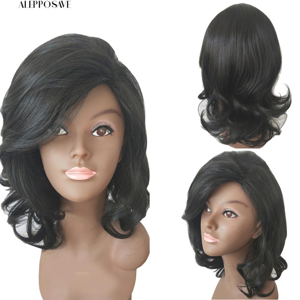 👗Fashion wanita Panjang Bergelombang Rambut Keriting Cospaly Costume Full Wig Hair Extension | Shopee Indonesia