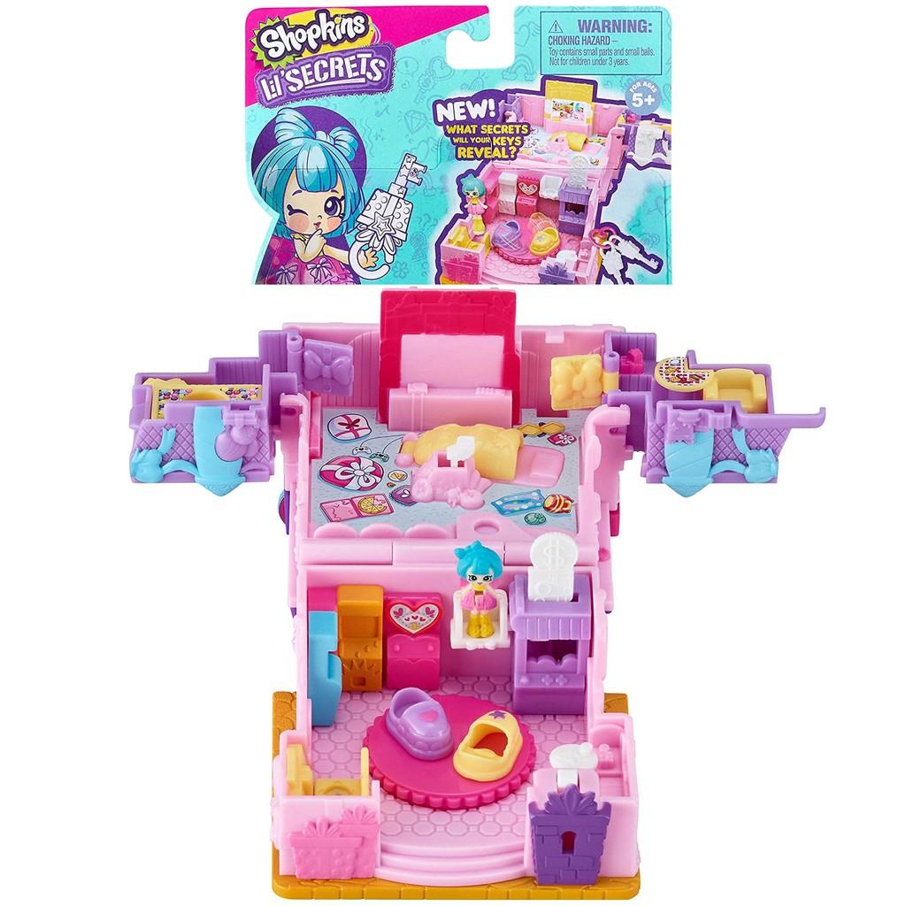 Shopkins Lil Secret Game On Arcade Playset Original Secret Shop Shopee Indonesia