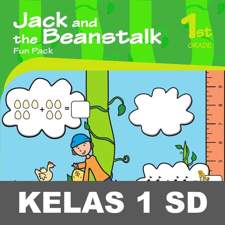 Jack Beanstalk Fun Pack Buku Aktivitas Menulis Kata Mewarnai Anak Sd Shopee Indonesia