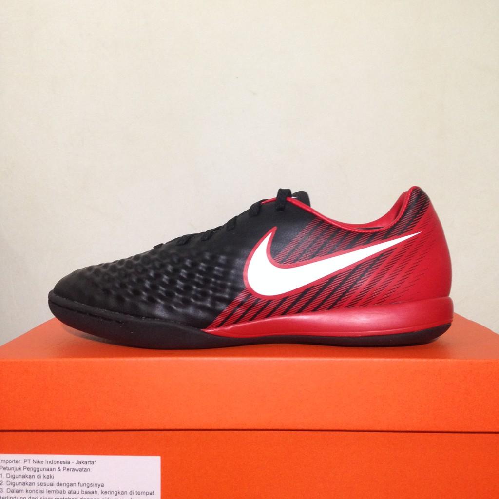 c07428a6f9 Sepatu Futsal Nike Magista X Onda II Black University Red 844413-061  Original BNIB