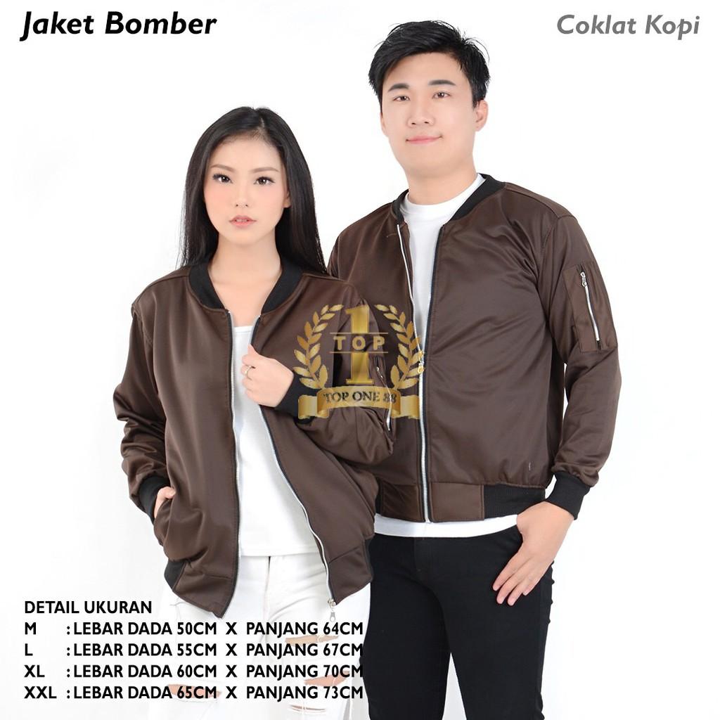 TopOne88 Jaket Bomber Unisex (Nevy)  b822eba190