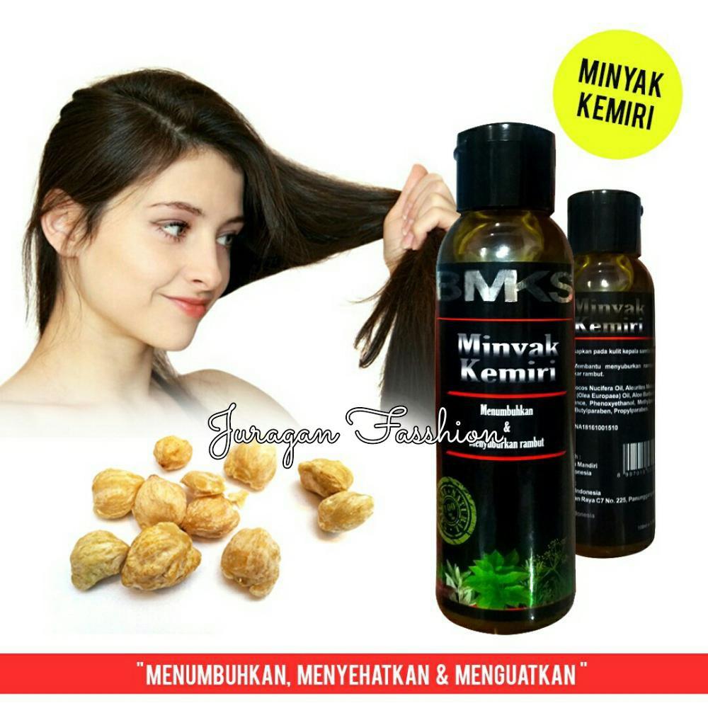 Minyak Kemiri Bmks Natural Bpom Original Black Magic Al Khodry Premium Penumbuh Penyubur Rambut 125 Ml Candlenut Oil Ori Shopee Indonesia