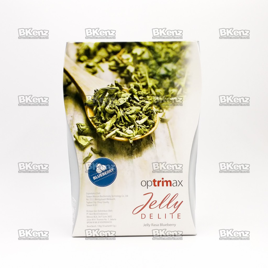 Optrimax Jelly Delite Rasa Bluberry 1 Boxisi 10 Sachetmemperlancar Plum Sachet Original 100 Paket Lengkap Diet 30 Hari Bonus 2