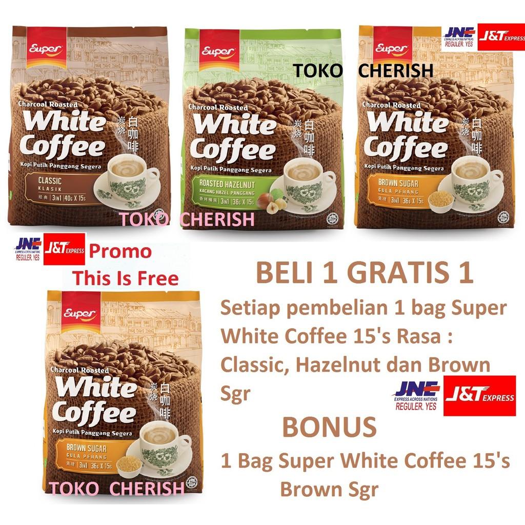 Oldtown White Coffee 3in1 Natural Cane Sugar Shopee Indonesia Old Town 3 In 1 Classic Kopi Klasik