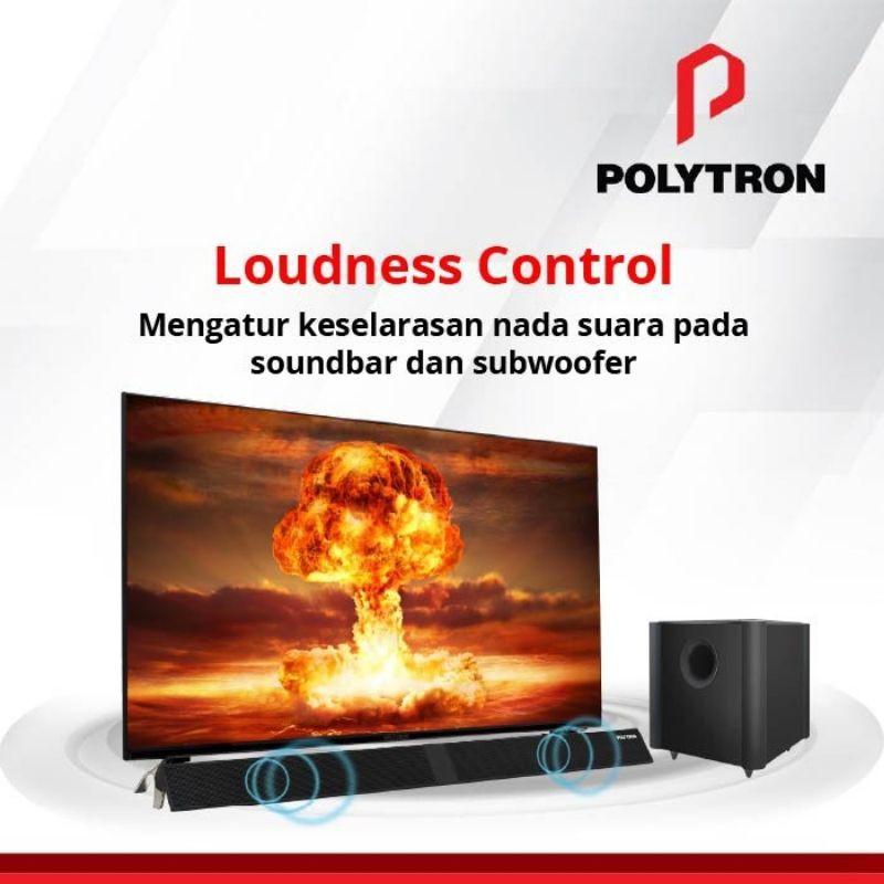 TV LED POLYTRON 50 INCH 50B8750 SOUNDBAR