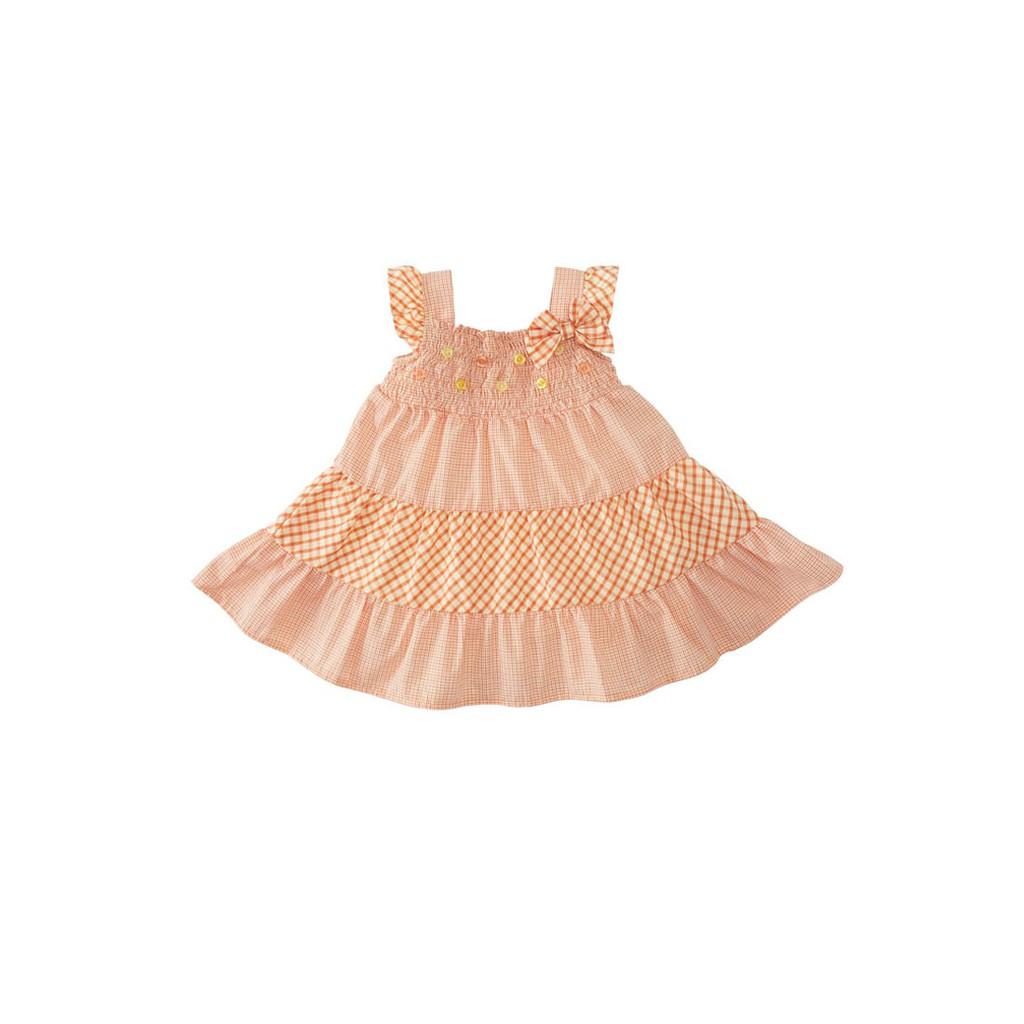Baju Anak Perempuan Torio Basic Lil Tiny Hearts Long Dress Shopee Bayi B65 0123 3 6 M Indonesia