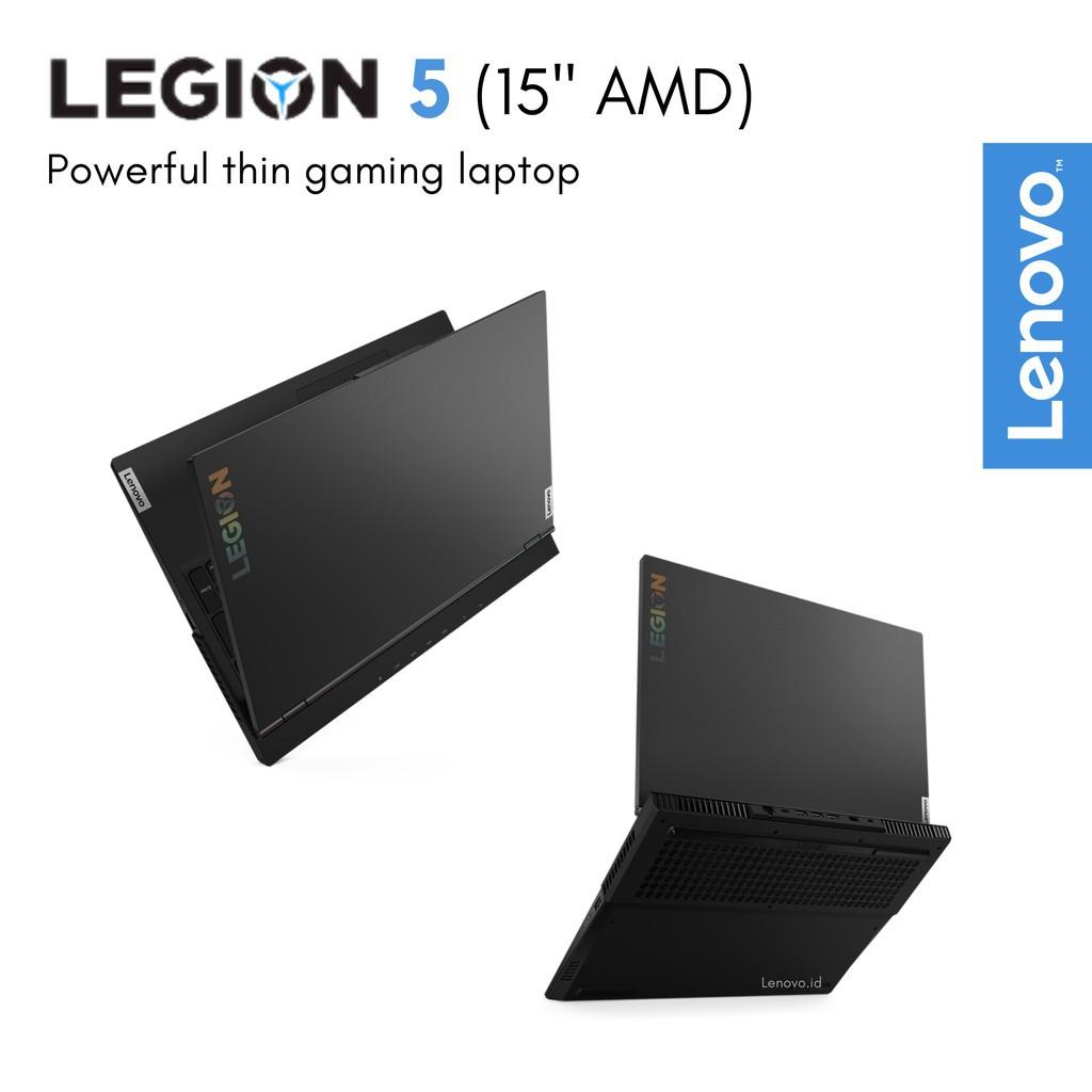 Lenovo Legion 5 2xid Ryzen 7 4800h 16gb Ssd 512gb Gtx1650ti 4gb Ips 120hz Windows Office Shopee Indonesia