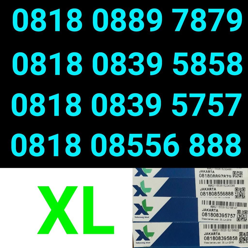Kartu perdana XL .