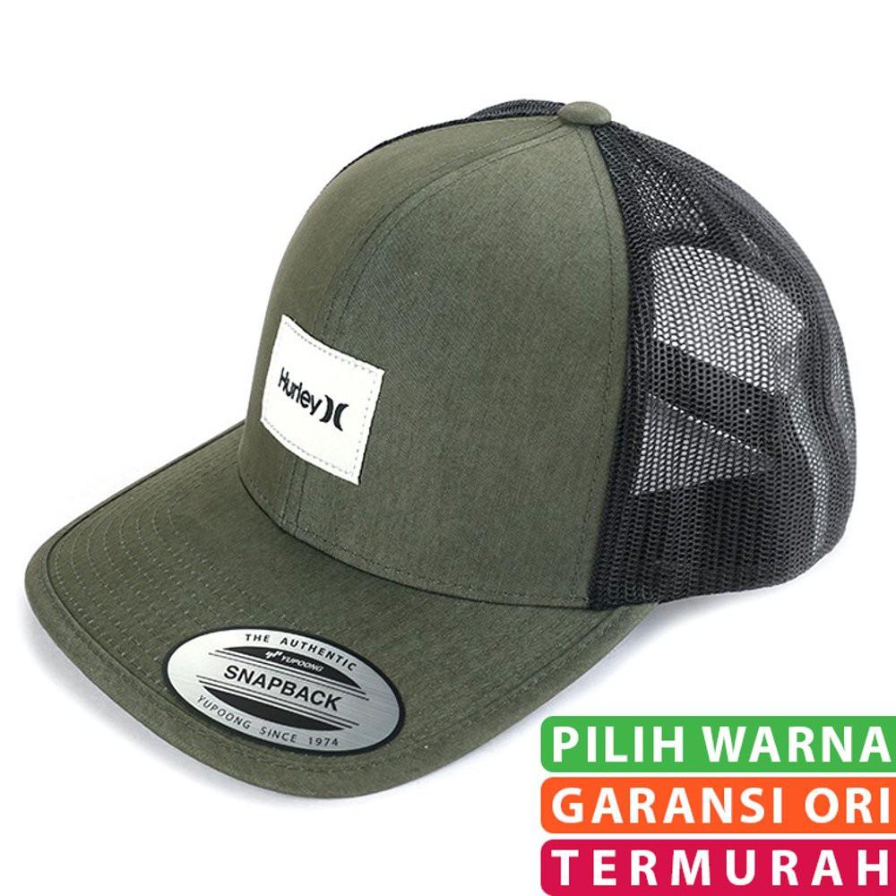 Topi Hurley Temukan Harga Dan Penawaran Online Terbaik Pria Distro Trucker  Nirvana Aksesoris Fashion Desember 2018 f1504efb94