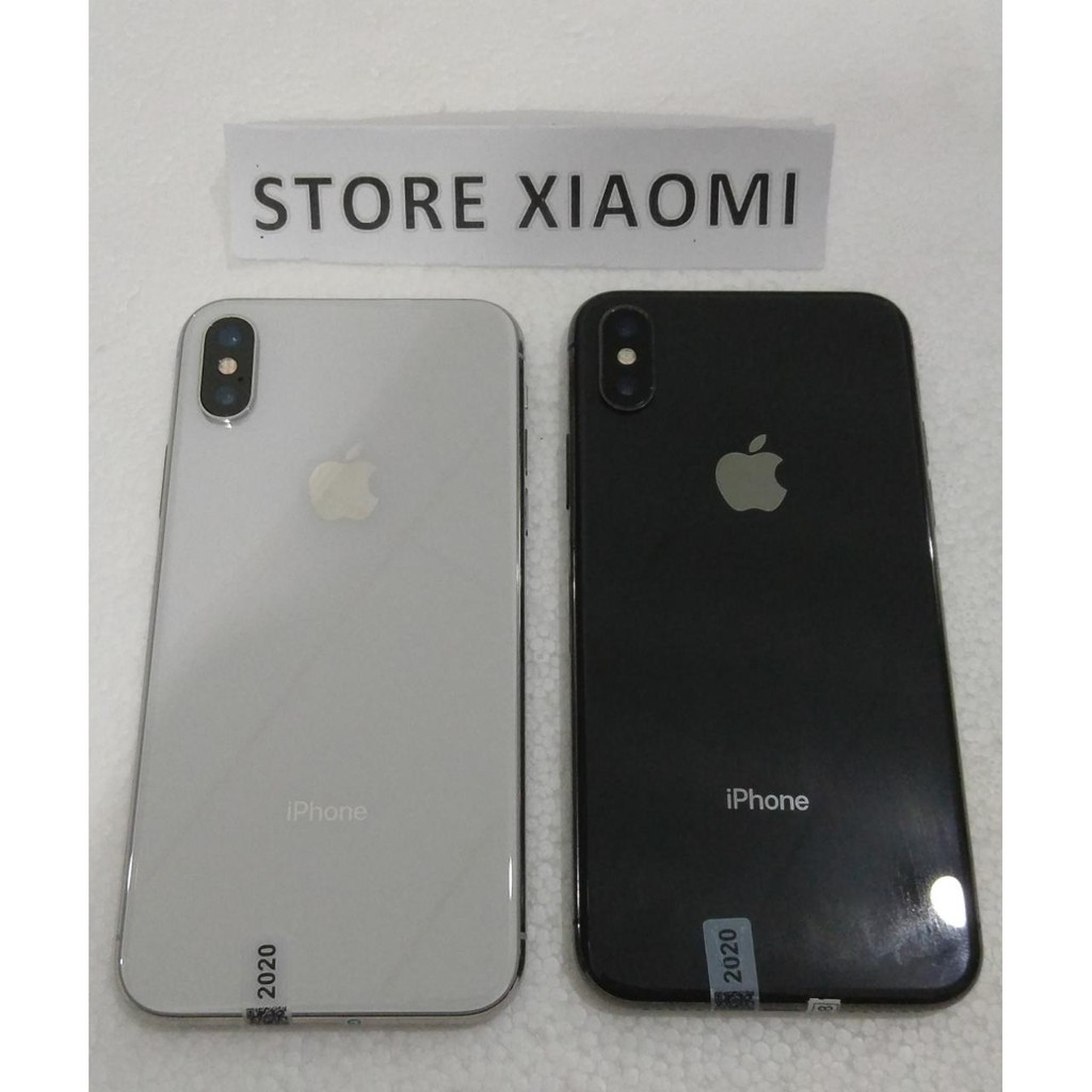 Apple iPhone X 256gb Second Fullset Ex Internal 100% Original