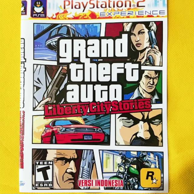 Terbaru Kaset Ps 2 Grand Theft Auto Liberty City Stories Shopee Indonesia