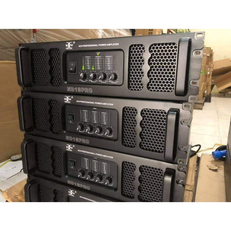 Power amplifier RDW ND18PRO original garansi resmi termurah