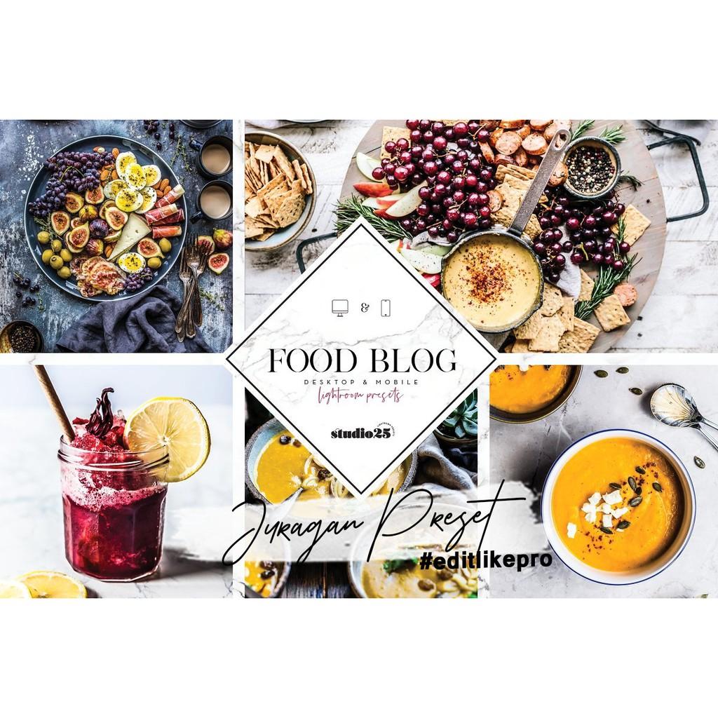 S25 Food Blog Mobile Lightroom Preset Shopee Indonesia