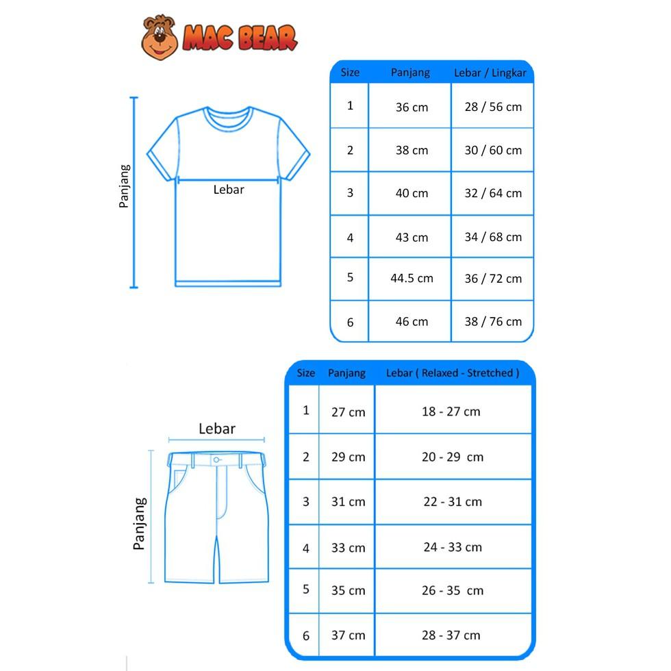 Macbear Baju Anak Robo Club Navy Blue Daftar Update Harga Terbaru Hx5 1710 Kids Setelan Boss Panda Size 4 Abu Muda