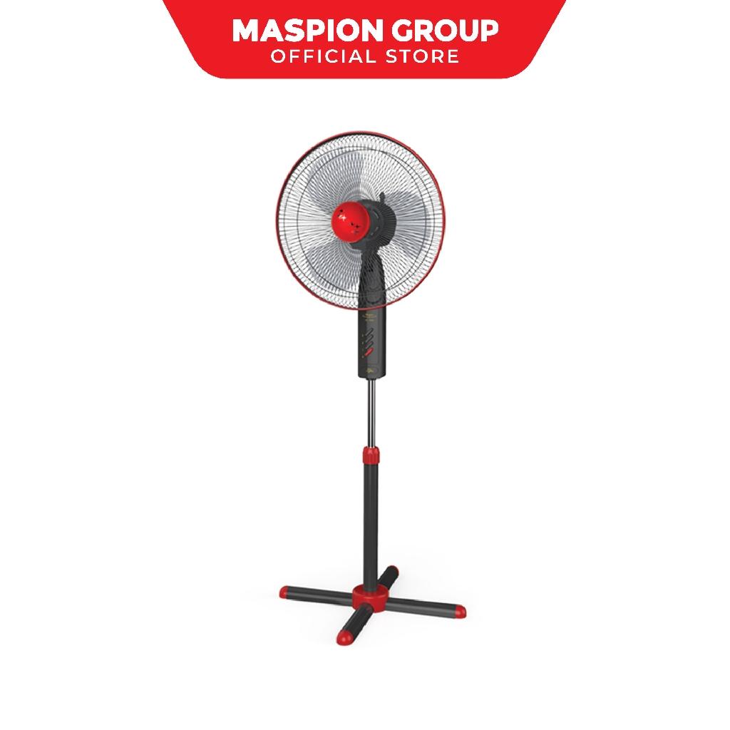 "Maspion Stand Fan EX-160S Kipas Angin 16"" | Shopee Indonesia"