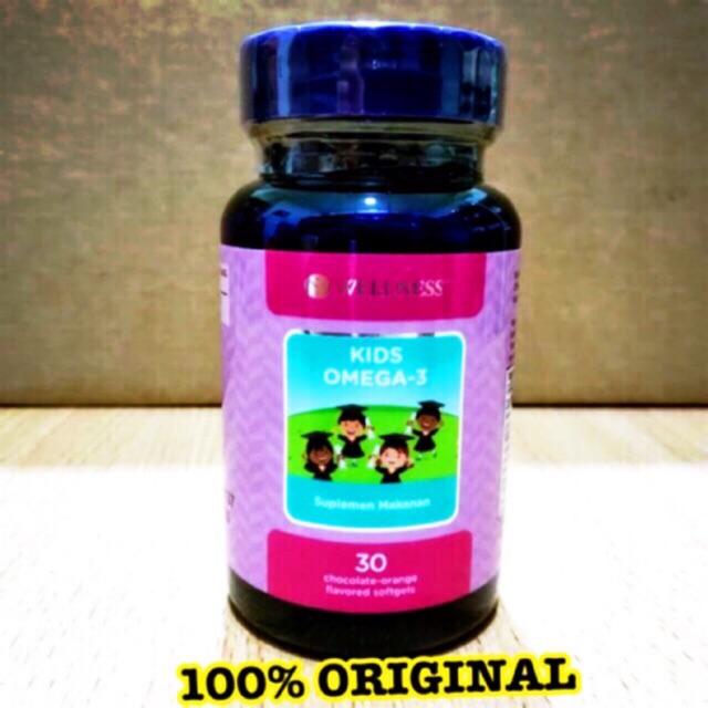 Wellness Kids Omega 3 , vitamin untuk daya tahan tubuh dan ...