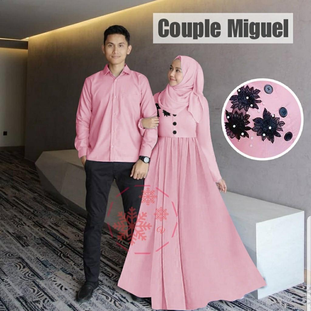 CAMEO9 - COUPLE MIGUEL / BAJU MUSLIM COUPLE / BAJU COUPLE / READY 9 WARNA