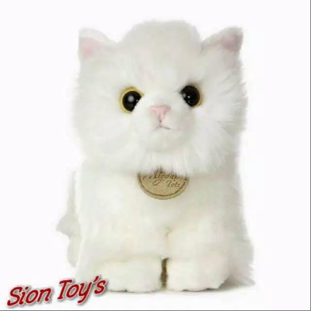 Boneka Hewan Kucing Anggora Lucu Shopee Indonesia