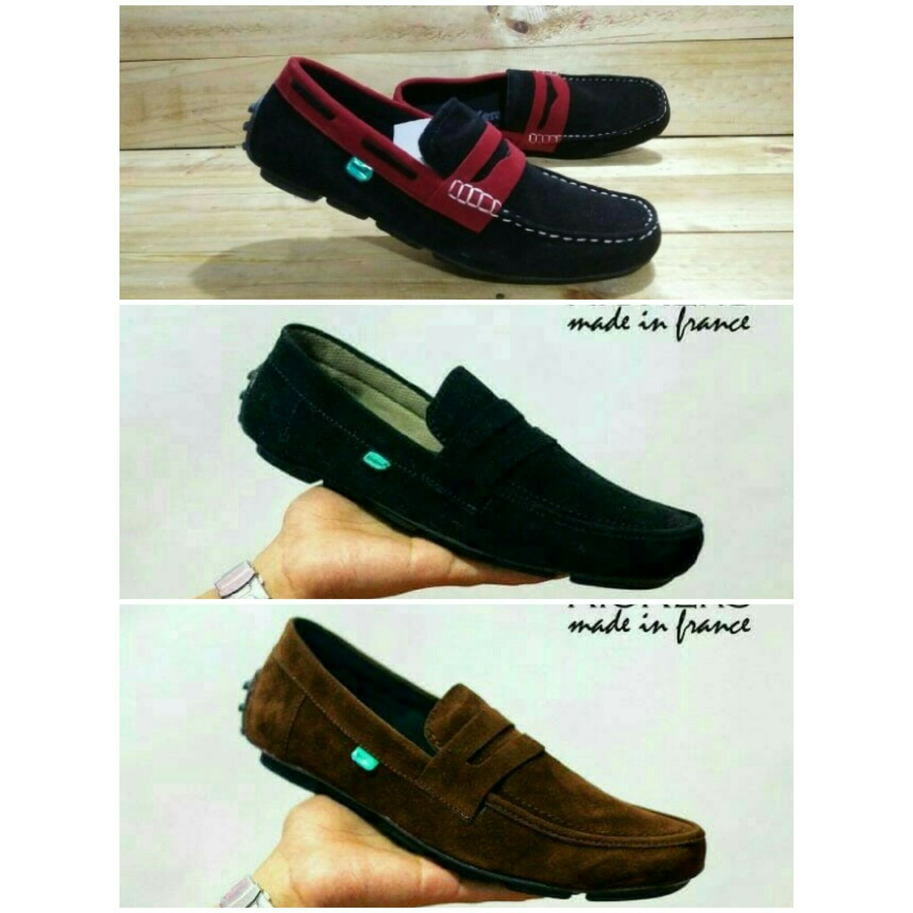 Cuci Gudang Sepatu Pria Casual Loafers Kuliah Kerja Santai Formal Redknot Shoes Hemera Black Frandeli M7r2 Shopee Indonesia