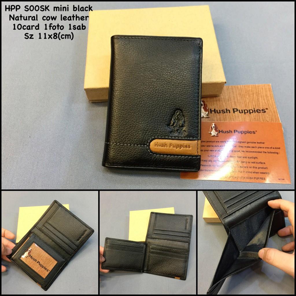 Clutch pria hush puppies 168-2 black super premium clutch import clutch  kulit  d34a28884e