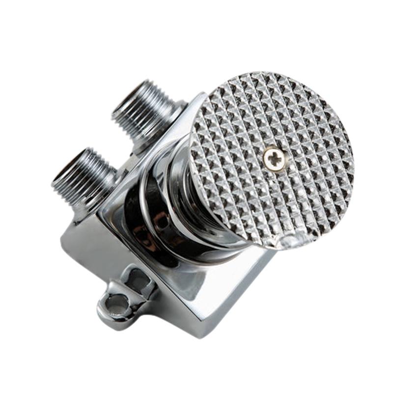 Qiekenao Control Switch Faucet Valve,Foot Pedal Control Switch Faucet Valve Single Cold Water Pedal Valve