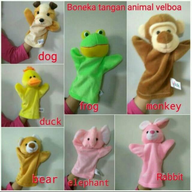 Boneka Tangan (Hand Puppet) Aneka Karakter Sni  9ab63c9bc1