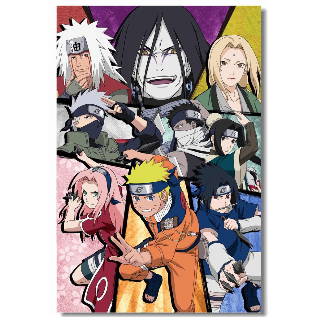 DVD Anime Naruto TerLengkap KID + Shippuden + Boruto Series + SD+ Movie Sub  INDO