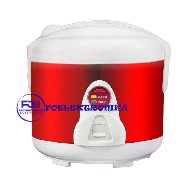 Kirin Rice Cooke KRC 087 / KRC087 - 3 in 1 - Silver List Merah/