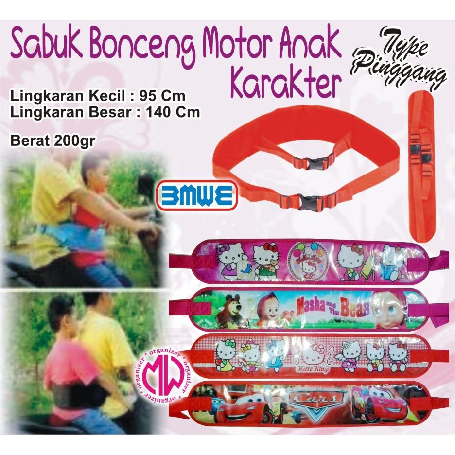 Sabuk Bonceng Pinggang Pengaman Motor Anak Boncengan Apro Safety Belt Untuk Safetybelt Shopee Indonesia