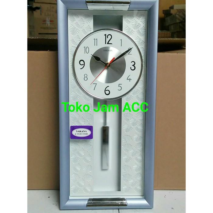 READY STOCK JAM DINDING SAKANA 715N PUTIH DIAMETER 50 49c2a15dc7