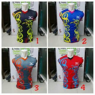 [ TERBARU ] MIZUNO SINGLET FAUNA Baju Kaos Olahraga Jersey Bola Setelan Futsal / Volly