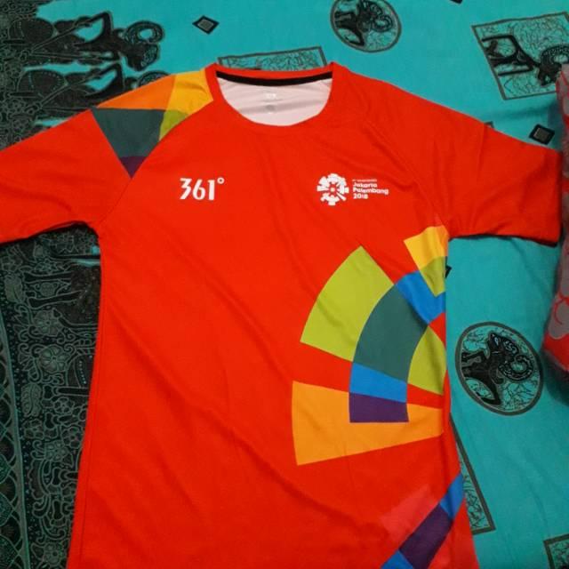 Baju volunteer asian games 2018 ORIGINAL
