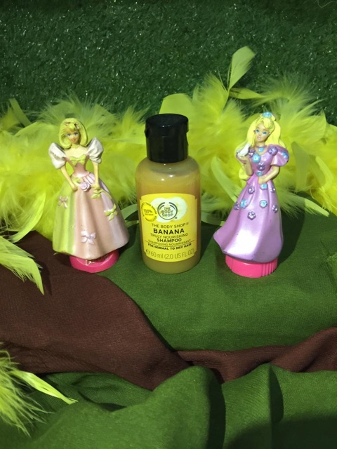 the body shop Shampoo 60ml / travel size shampoo the body shop strawberry / banana / ginger / fuji-2