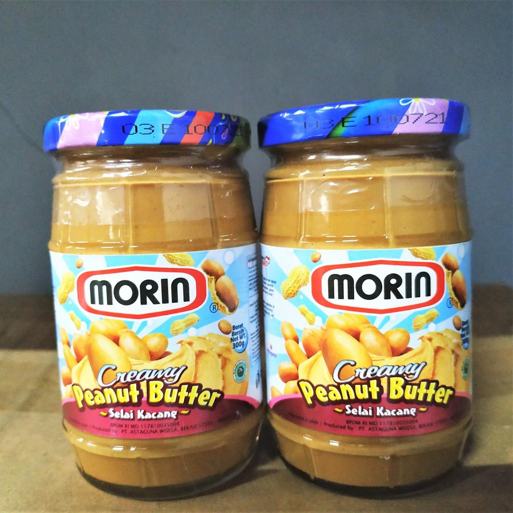 Morin Creamy Peanut Butter 300 Gr Selai Kacang Morin Shopee Indonesia