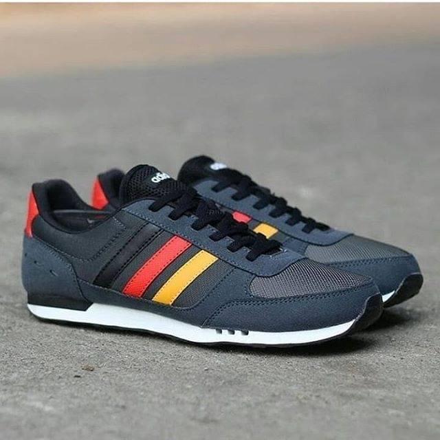 adidas neo city racer black cheap online