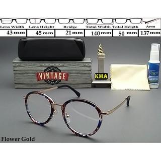 Stok Ready Frame kacamata minus VINTAGE kacamata minus frame korea vintage bulat