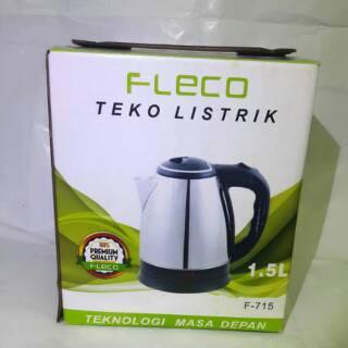 Teko Listrik Fleco 1.5lt. suka: 1139 .