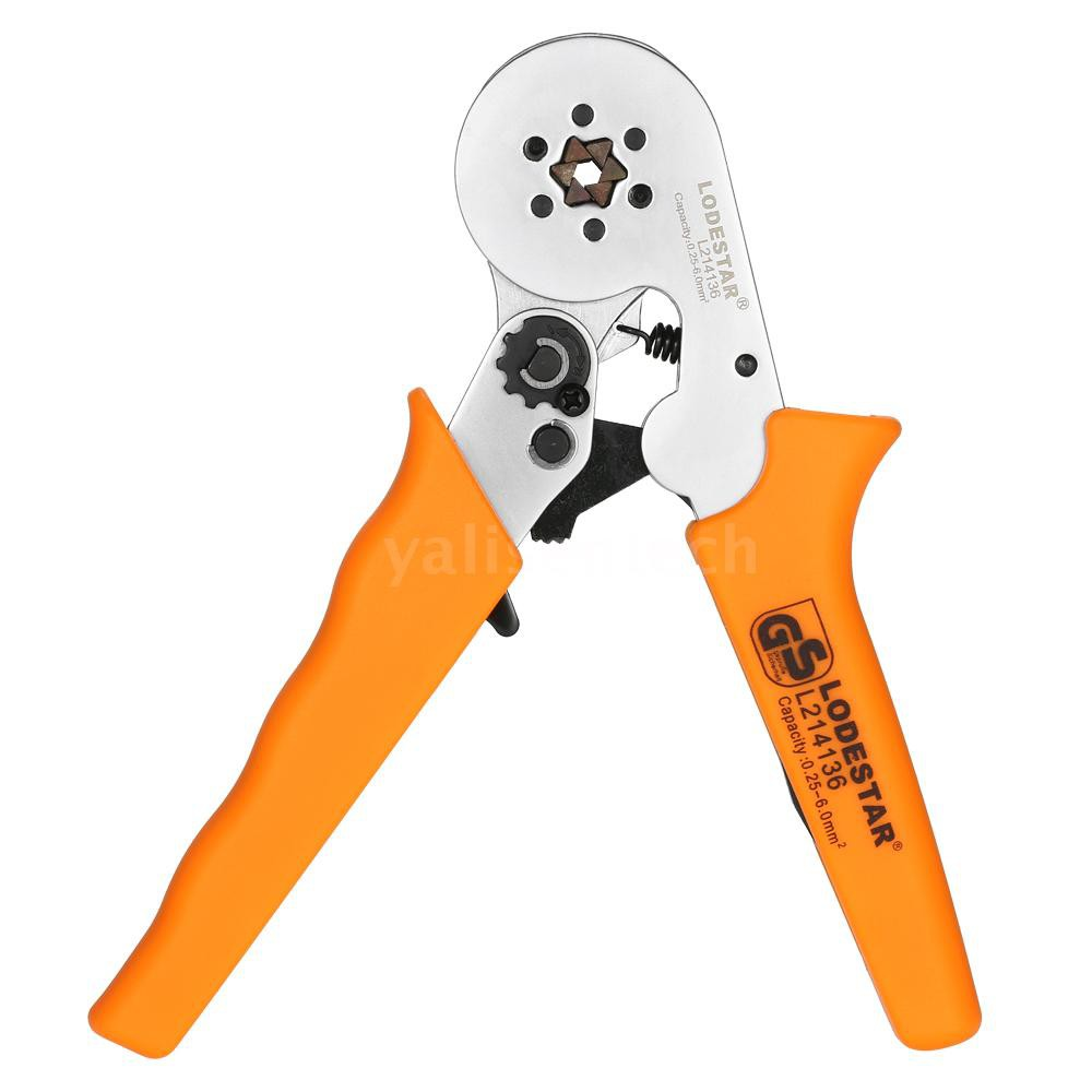 Crimping Tool Kit Pliers+800pcs AWG 10-22 Connector Electrical Terminals Orange