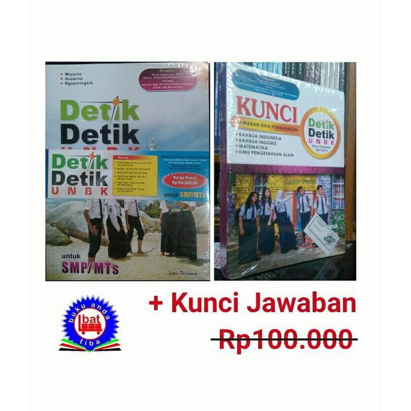 Buku Detik Detik Unbk Smp Mts 2017 2018 Kunci Jawaban Shopee Indonesia