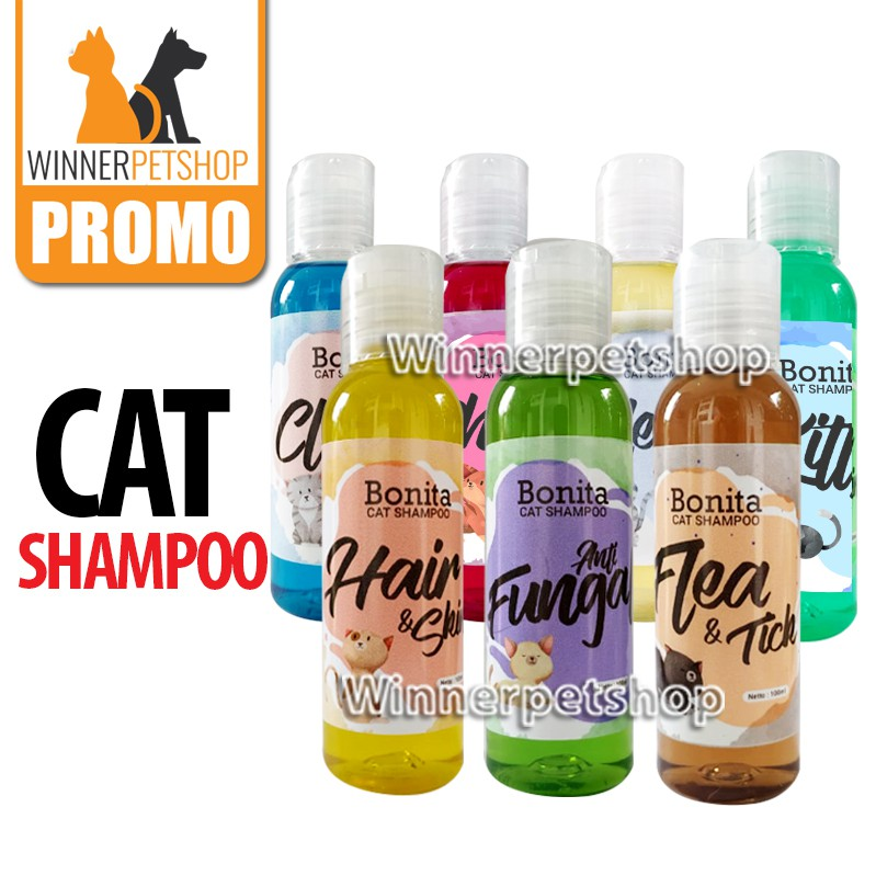 Shampoo Kucing - Merk Bonita - Cat Shampoo - Shampoo Kucing Murah