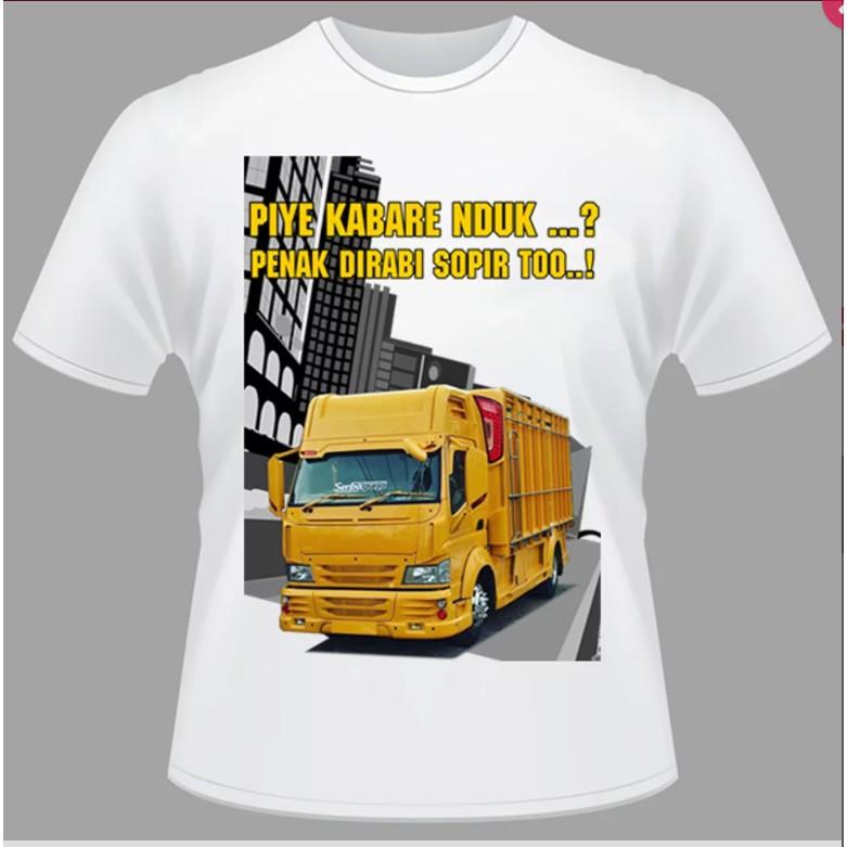 Kaos Bis KAMT Bus Truk Modifikasi Tshirt Truck Bos Muda Lovers