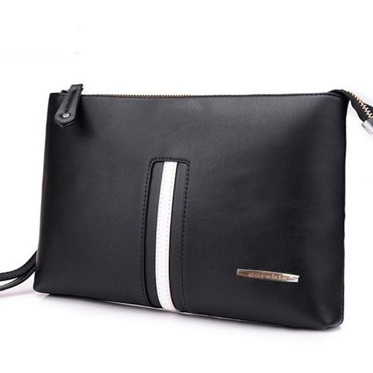 Tas Selempang Pria Kulit Import USB Port Chest Bag  cb51b3050987c