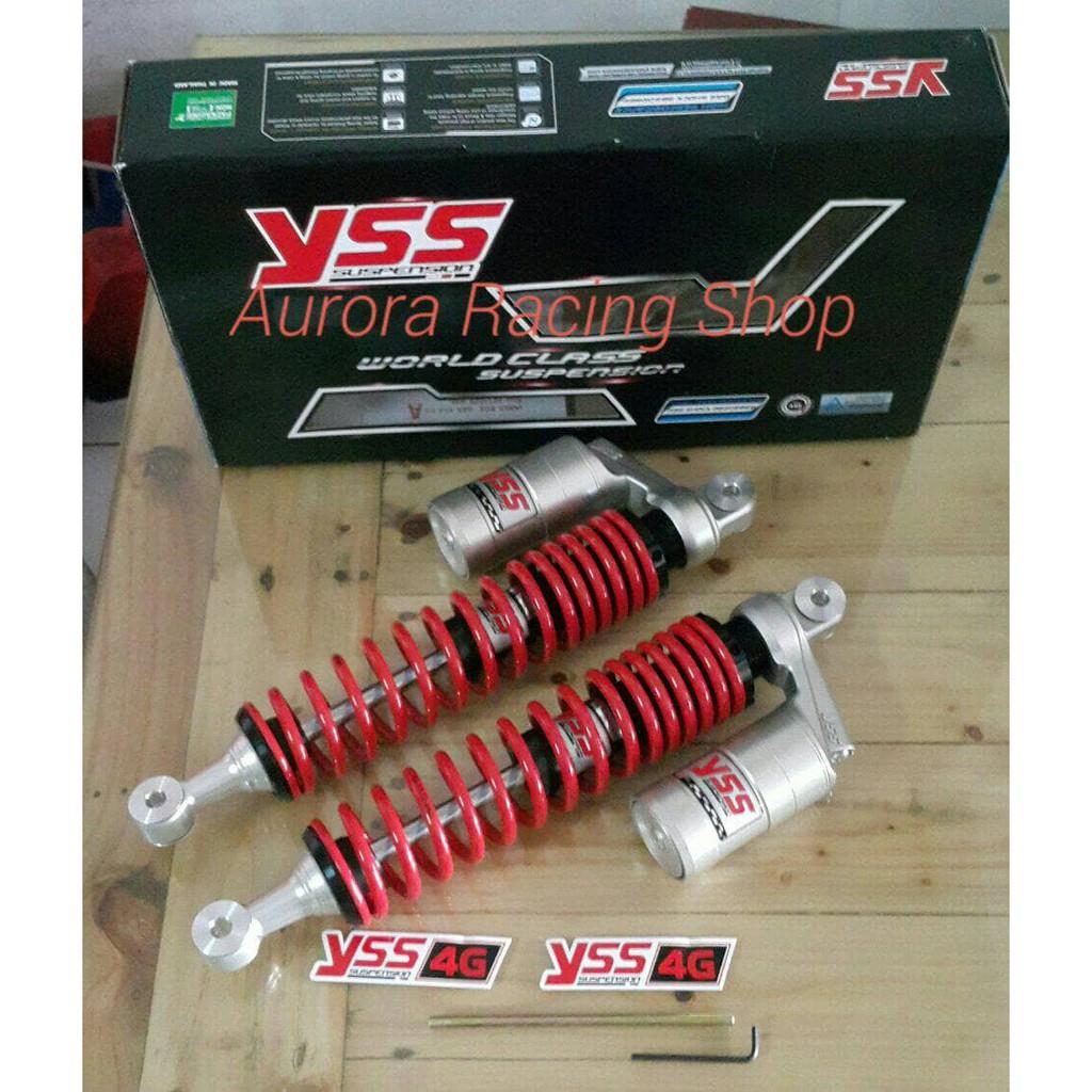 Yss 360mm Top Up New Per Shockbreaker 360 Belakang Motor Thunder Shock Shogun 110 Smash Lama Shopee Indonesia