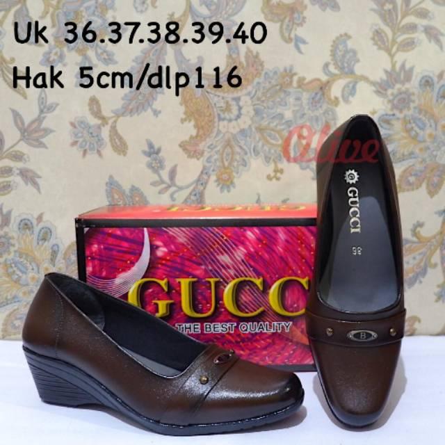 wedges gucci - Temukan Harga dan Penawaran Online Terbaik - Sepatu Wanita  November 2018  bb5396236e