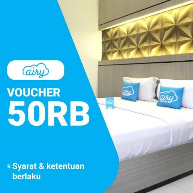 Voucher Diskon Kamar Hotel Airy Rooms 50 000 Shopee Indonesia