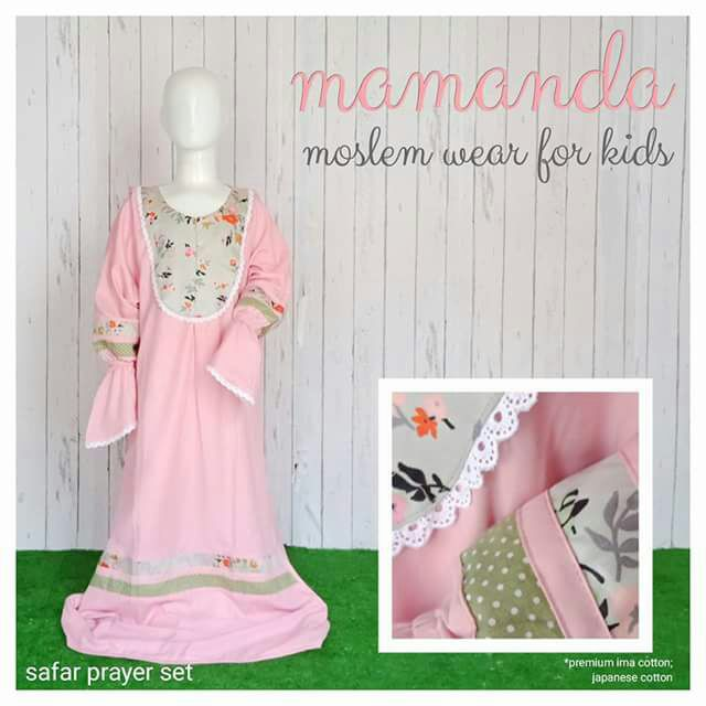 Mukena Anak Safar Prayer Set by Mamanda