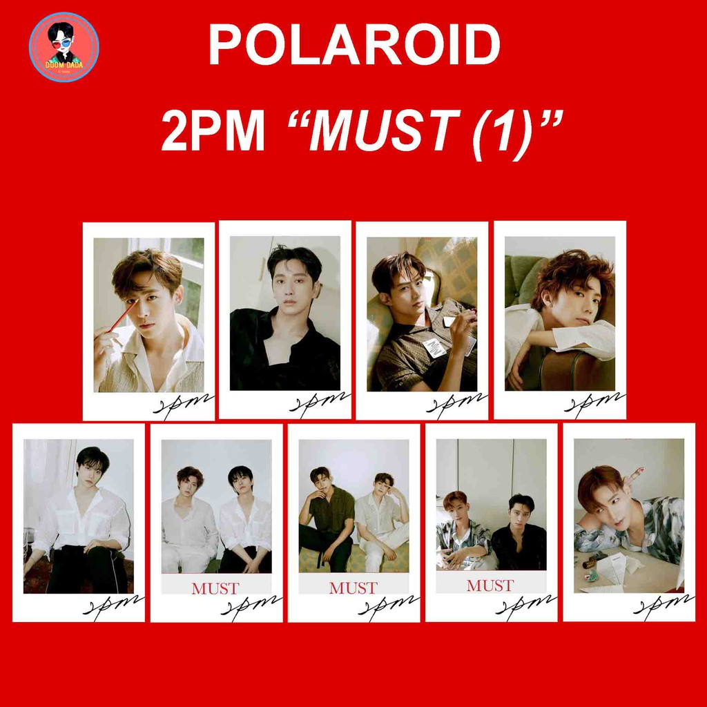 Polaroid 2PM MUST / Photocard 2PM MUST